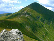 Hoverla Mountain, trekking in the Carpathians, Ukraine