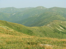 The Chornohora ridge, trekking in the Carpathians, Ukraine
