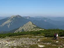 Malyi Gorgan Mountain, trekking in the Carpathians, Ukraine