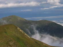 Petros Mountain, trekking in the Carpathians, Ukraine